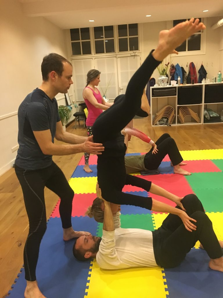 Partner Acrobatics groups