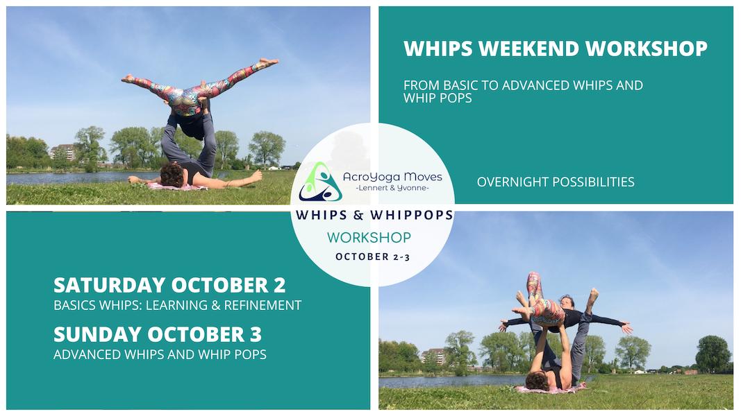 Whips workshop AcroYoga